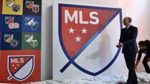 Don Garber New MLS Logo, 09182014