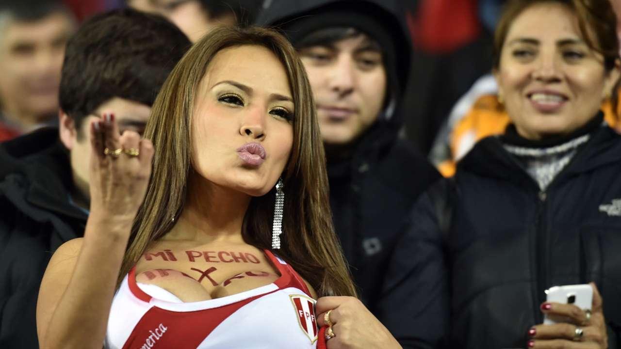 Peru fan Copa America 2015