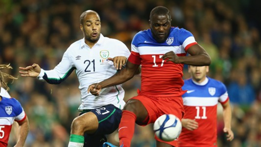 David McGoldrick Jozy Altidore Ireland USA 11182014