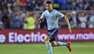 Roger Espinoza Sporting Kansas City MLS 03212015