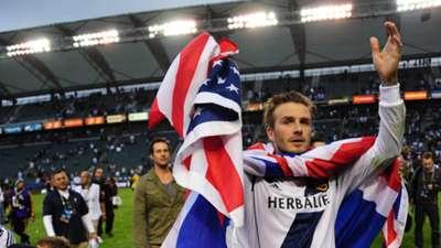 David Beckham LA Galaxy 2012 MLS Cup