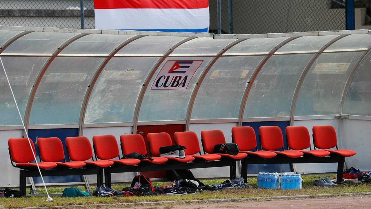 Cuba bench