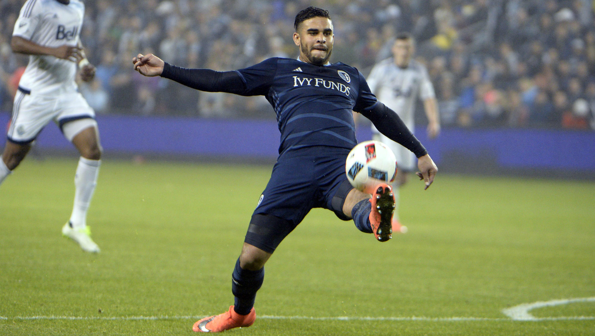 Dom Dwyer Sporting Kansas City Vancouver Whitecaps MLS 03122016