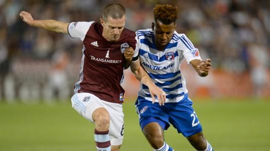 Sam Cronin Kellyn Acosta Colorado Rapids FC Dallas MLS 07232016