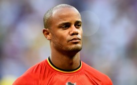 Vincent Kompany Belgium USA World Cup 07012014