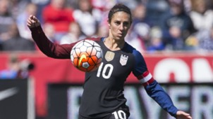 Carli Lloyd USWNT Friendly 04102016