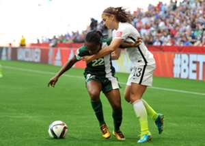 Sarah Nnodim Alex Morgan Nigeria USA Women's World Cup 06162015