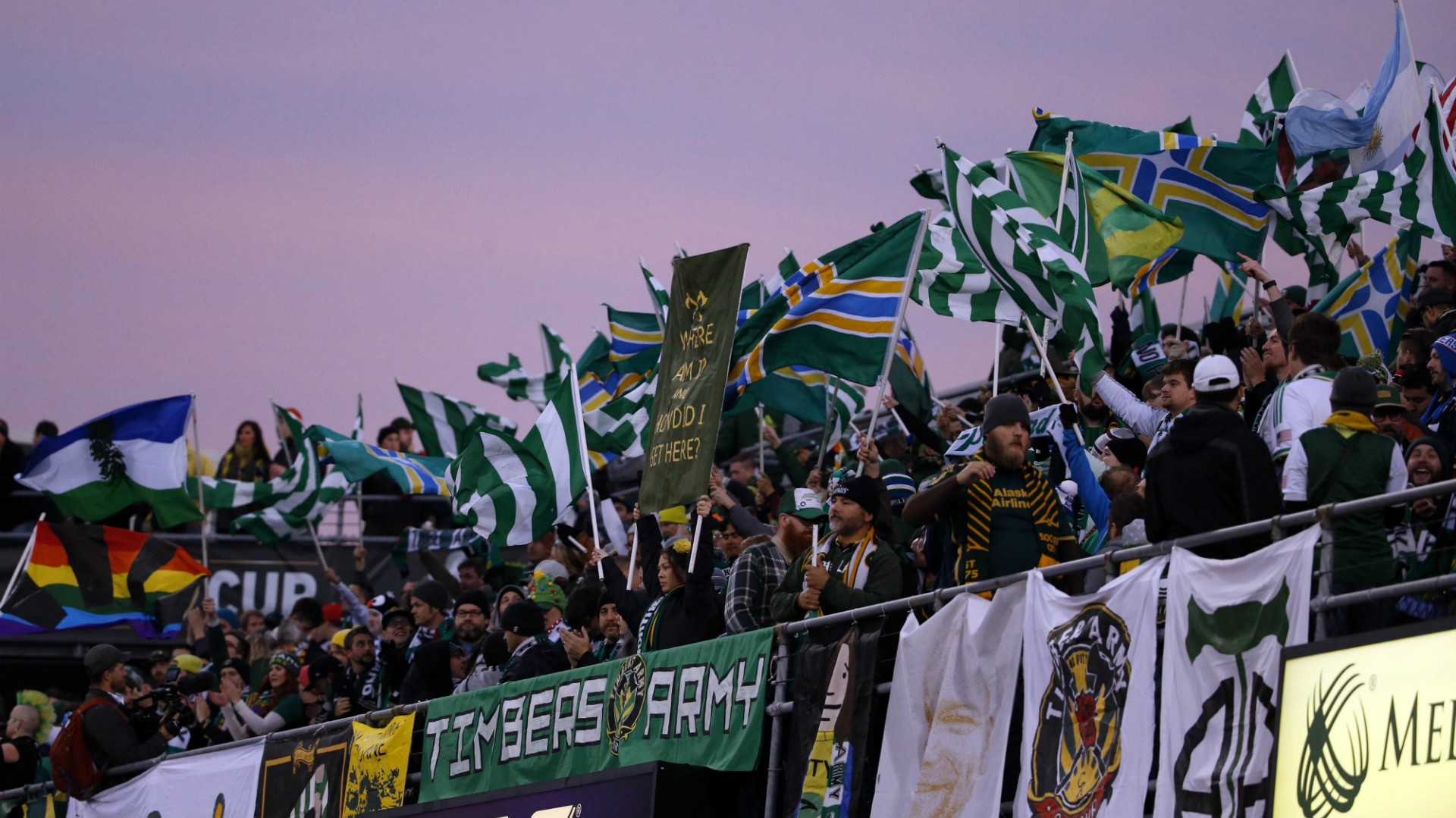 Portland Timbers Army Supporters' Group MLS Cup Final 12062015