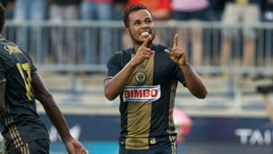 Roland Alberg Philadelphia Union MLS 08272016