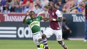 Diego Chara Michael Azira Portland Timbers Colorado Rapids MLS 070416
