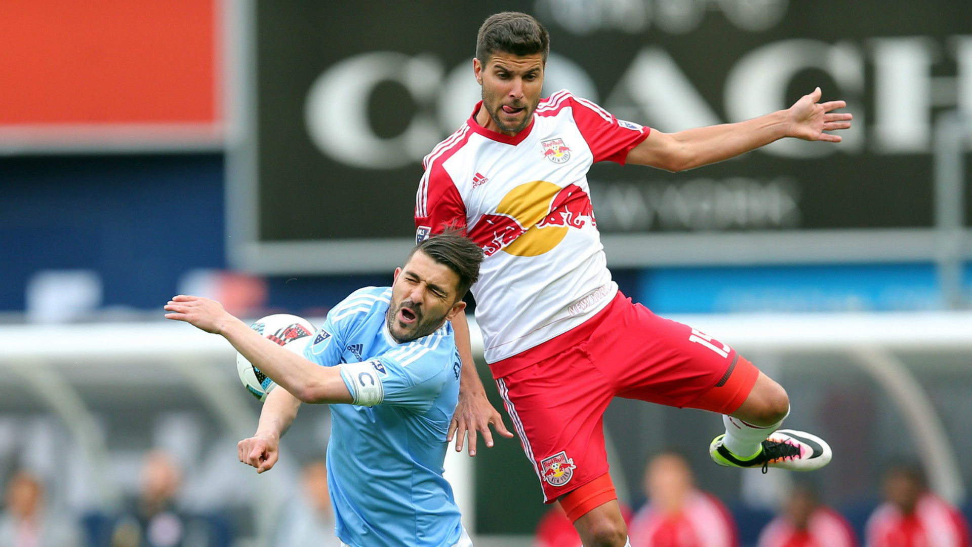 Red Bulls NYCFC David Villa Sal Zizzo MLS 05212016