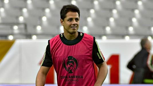 Javier Chicharito Hernandez Mexico training 06042016