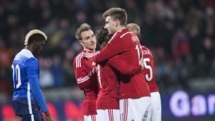 Nicklas Bendtner Denmark vs. USA 03252015