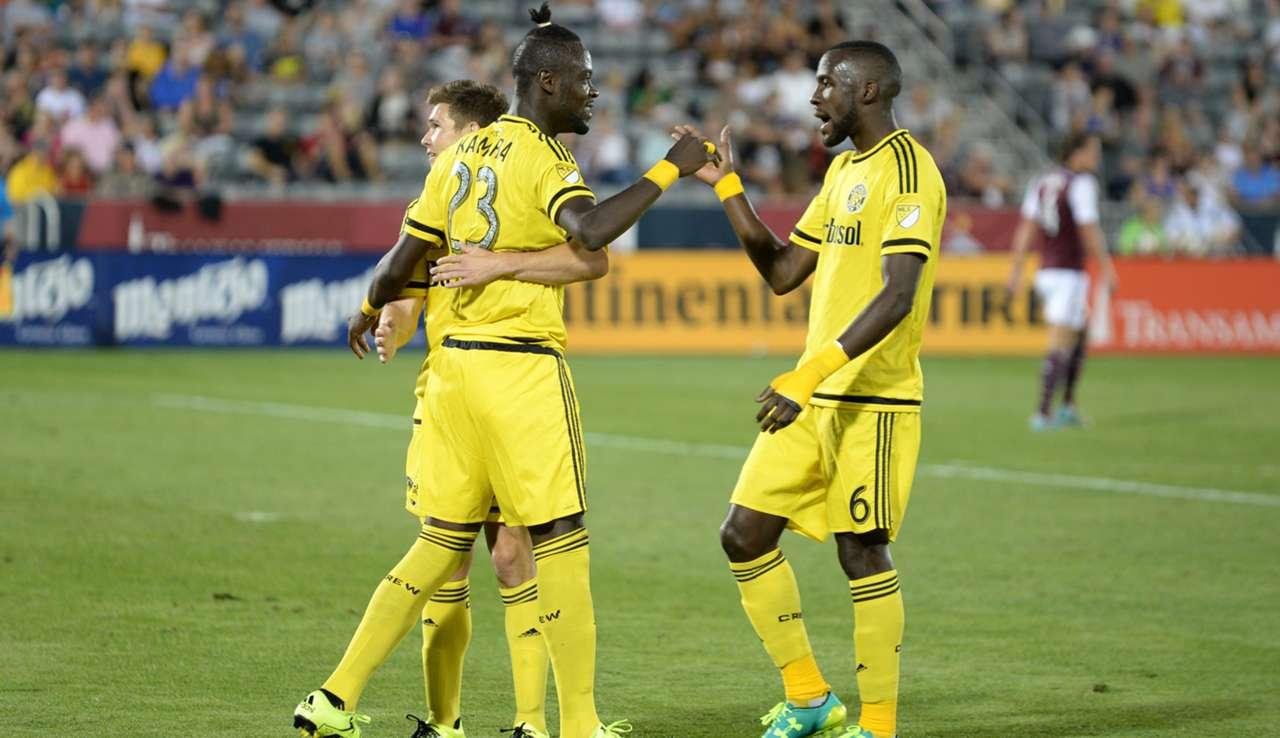 Tony Tchani Kei Kamara Columbus Crew MLS 08082015