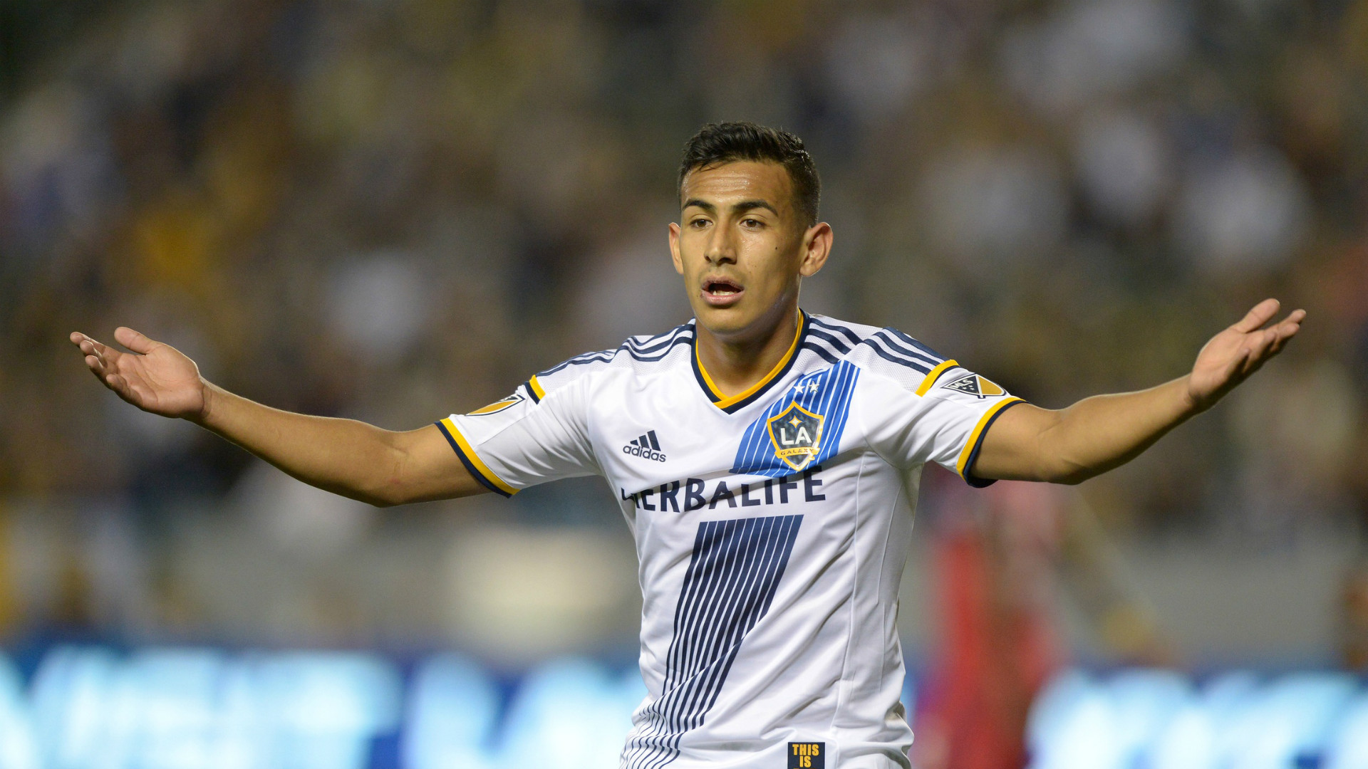 Jose Villarreal MLS LA Galaxy 03062015