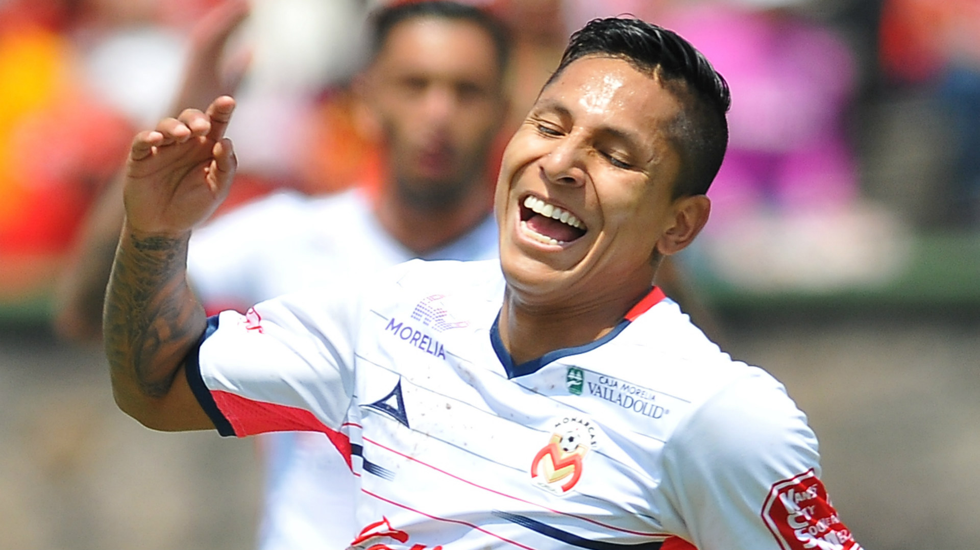 Raul Ruidiaz Monarcas Morelia Liga MX 08282016