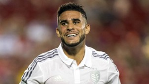 Dom Dwyer Sporting Kansas City MLS 08132016