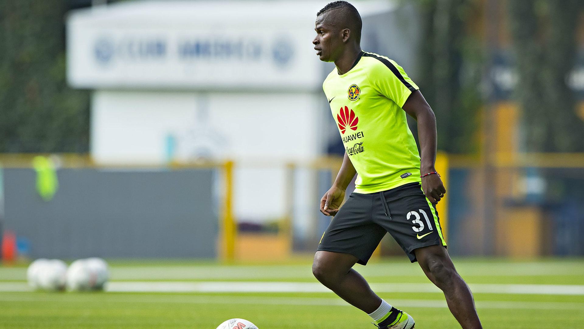 Carlos Darwin Quintero Club America Liga MX preseason training