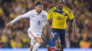 Lee Nguyen Adrian Ramos USA Colombia Friendly 11142014