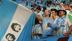 Hinchas Argentina Maradona Che Guvevara