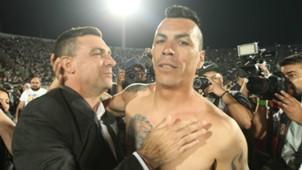 Pablo Guede y Esteban Paredes