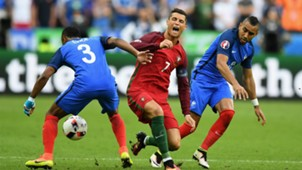 Cristiano Ronaldo Payet Portugal France Euro Final 10072016