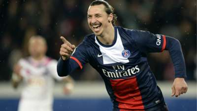 Zlatan Ibrahimovic PSG Bordeaux Ligue 1 31012014