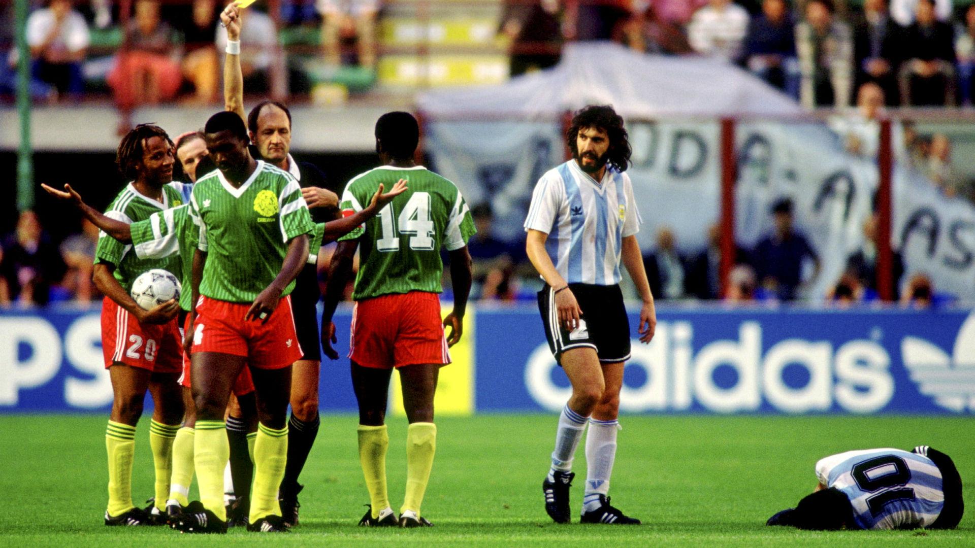 Camerun Argentina Italia 90