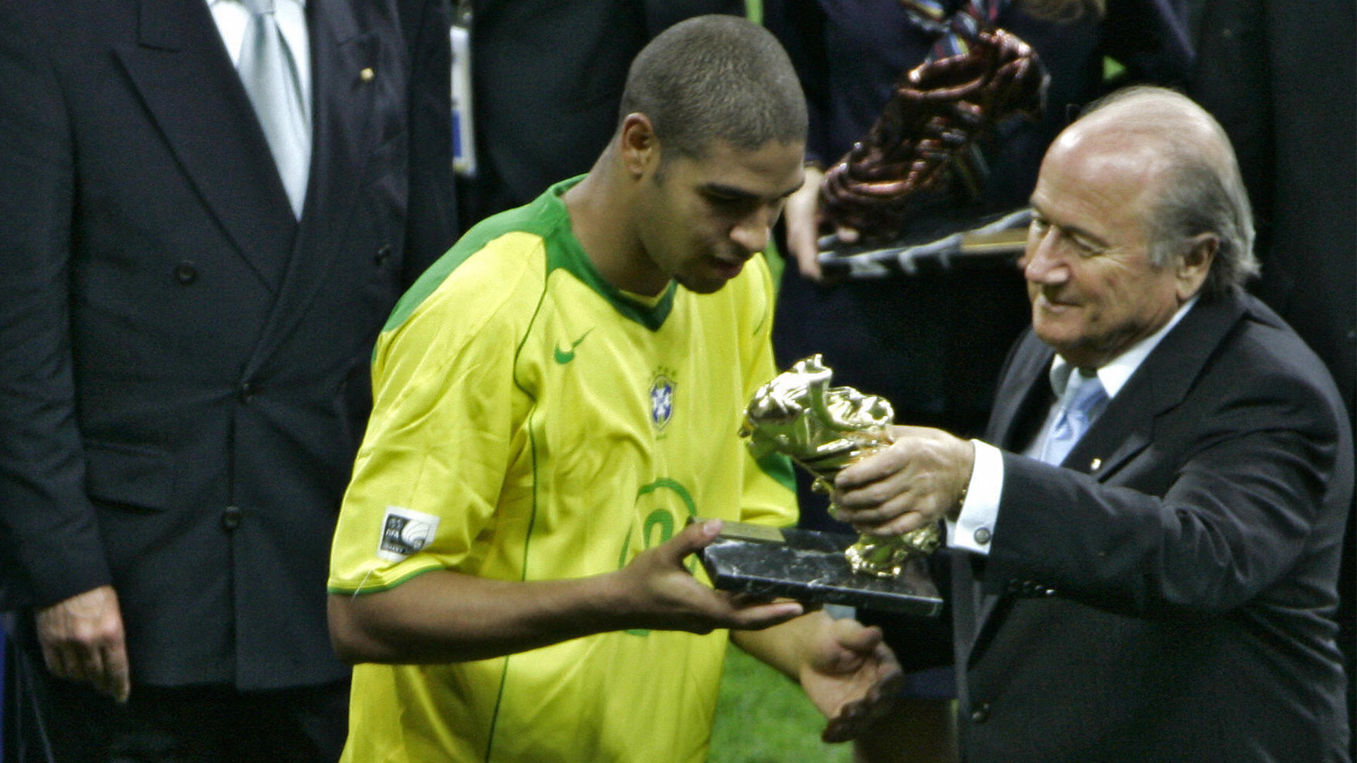 Adriano Blatter Golden Ball Confederations Cup Brazil Germany 2005