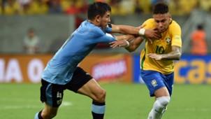 Neymar Brasil Uruguay