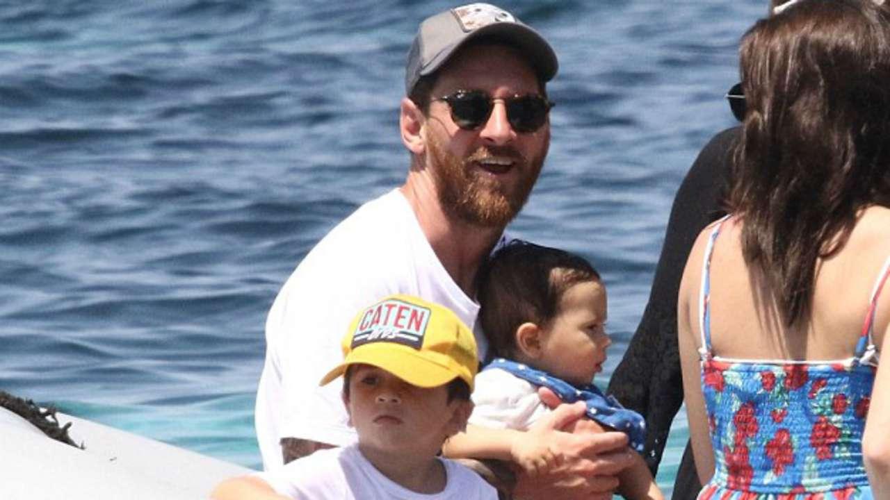 Lionel Messi Vacaciones Ibiza 12072016