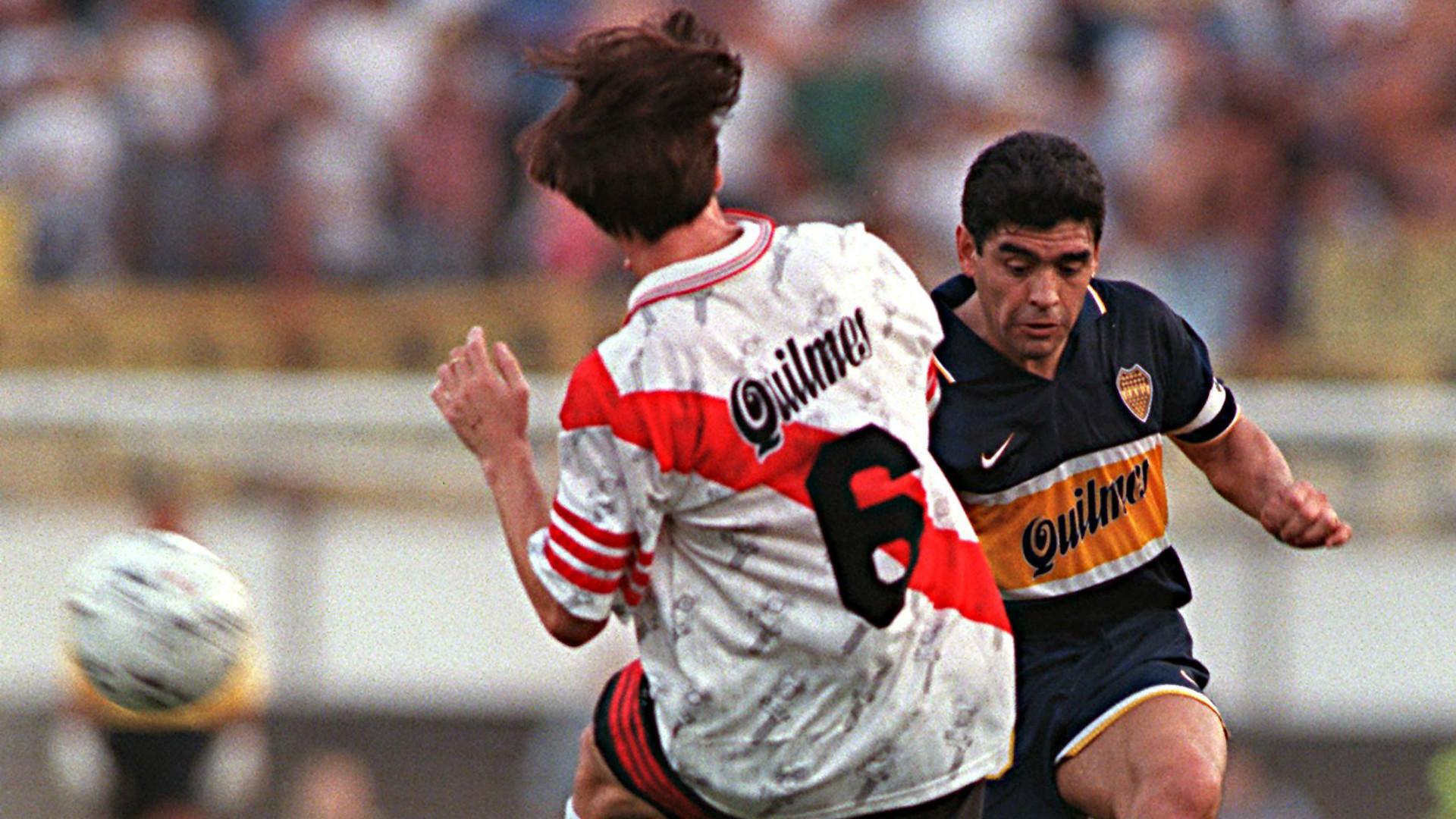 Diego Maradona Last Match River Plate Boca Juniors Apertura 1997
