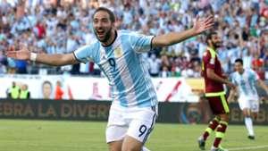 Gonzalo Higuain Argentina Venezuela Copa America 18062016