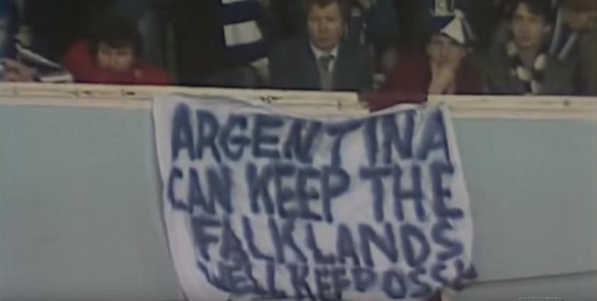 Resultado de imagen para argentina con keep the falklands ossie