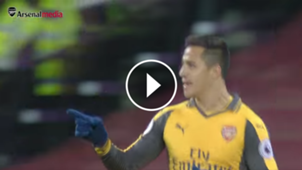 Alexis Sánchez, mejor gol Arsenal video