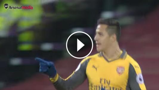 Alexis Sánchez, mejor gol Arsenal video