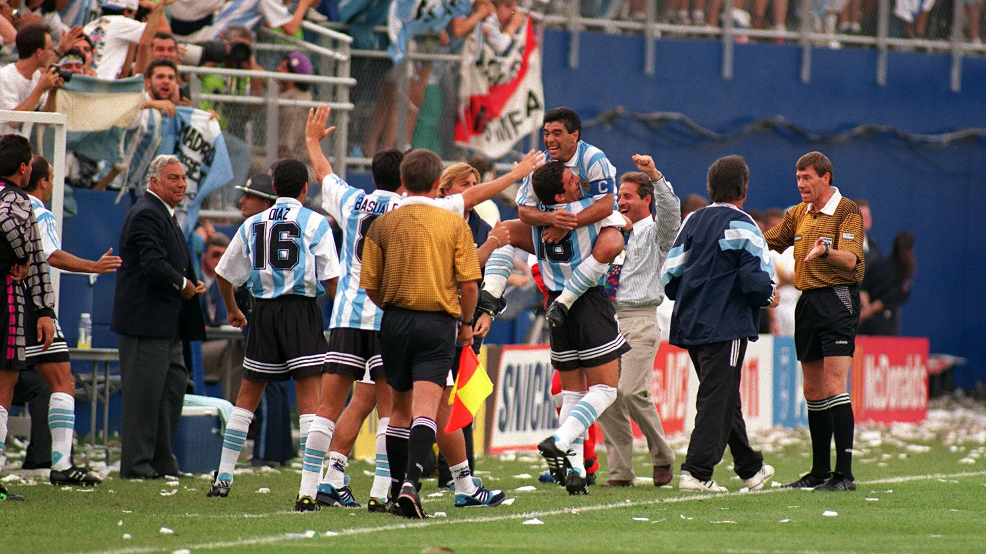 Argentina Nigeria World Cup 1994