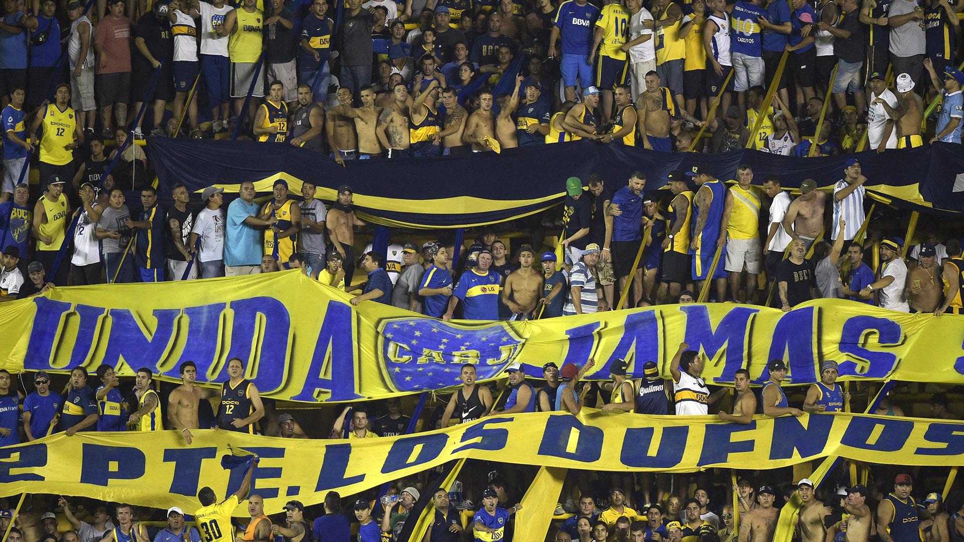 Boca hinchada fans