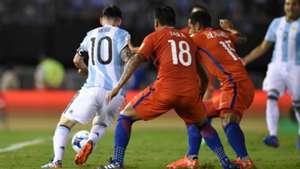 Lionel Messi Argentina Chile Eliminatorias Sudamericanas 2018