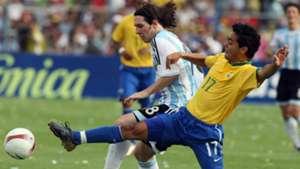 Lionel Messi Argentina Brasil 15072007