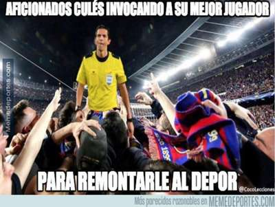 Memes Barcelona Deportivo La Coruña