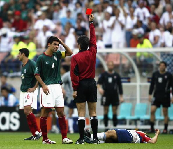 Rafael Márquez Álvarez México Estados Unidos 2002