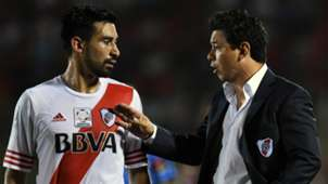 Ariel Rojas Marcelo Gallardo River Plate 2015