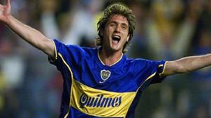 Guillermo Barros Schelotto Copa Libertadores 2001