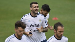Pratto Argentina training Brazil WC 2018 South American qualifier