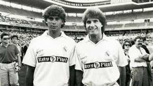 Fernando Hierro Oscar Ruggeri Real Madrid