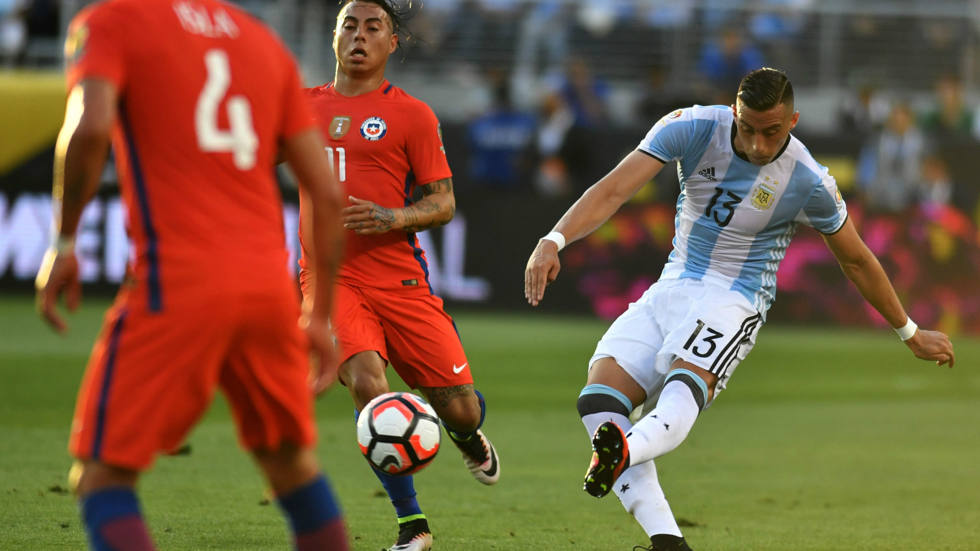 Ramiro Funes Mori Argentina Chile Group D Copa America Centenario 06062016