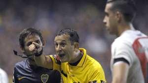 Dario Herrera Marcelo Meli Ramiro Funes Mori Copa Libertadores 2015 Boca River 19042016