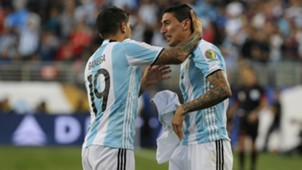 Ever Banega Angel Di Maria Argentina Chile Group D Copa America Centenario 06062016