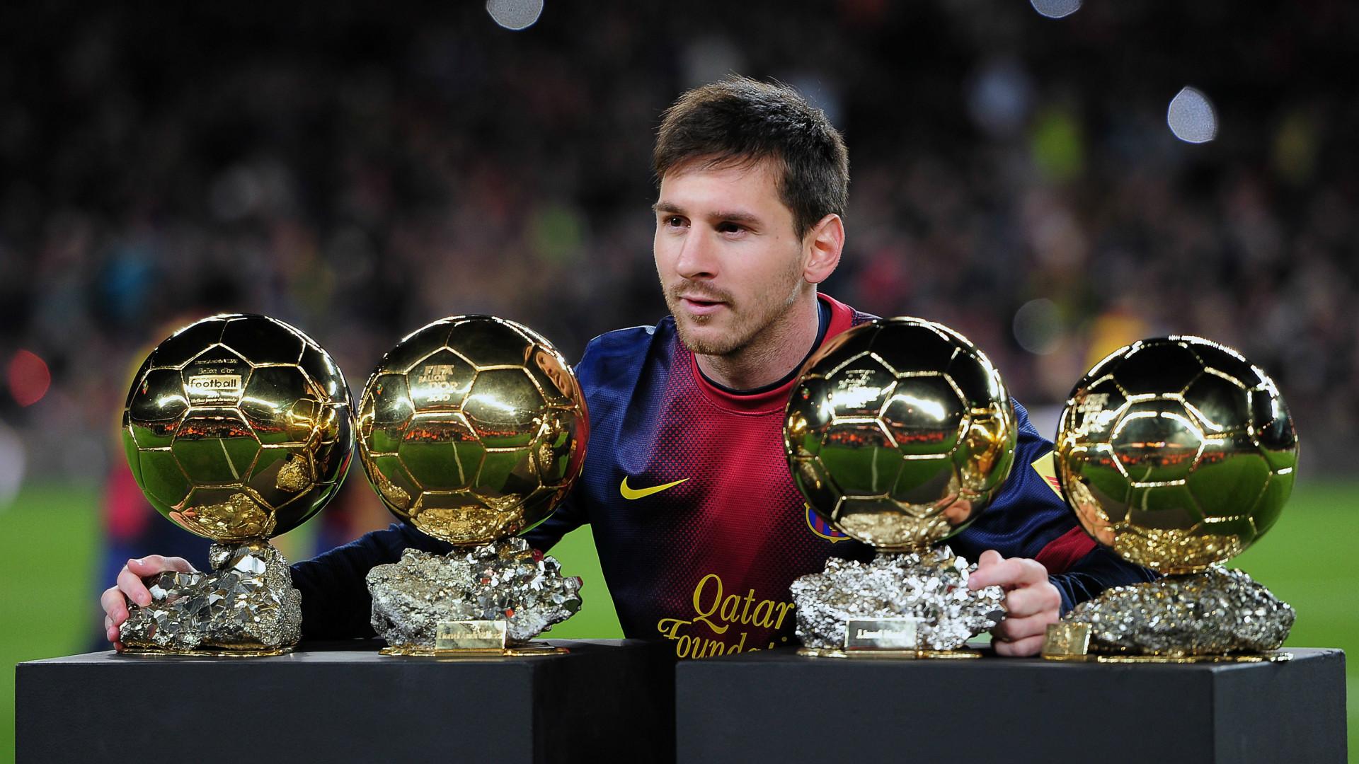 Lionel Messi Barcelona balon de oro
